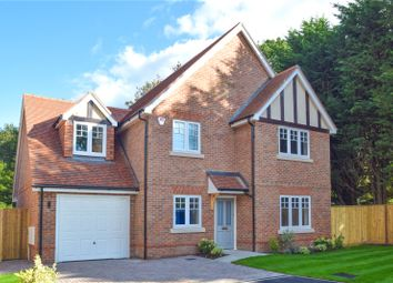 Thumbnail 4 bed detached house for sale in Oak Apples, Elgar Avenue, Crowthorne, Berkshire
