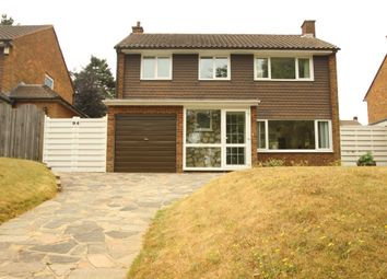 Thumbnail 3 bed detached house for sale in Warren Road, Chelsfield