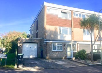 Thumbnail 4 bed town house for sale in Ash Close, Gosport