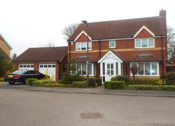 Thumbnail 4 bedroom detached house to rent in Deep Spinney, Biddenham, Bedford