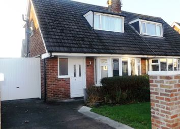 Thumbnail 2 bedroom semi-detached bungalow for sale in St Michaels Road, Blackpool
