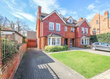 Thumbnail 4 bed semi-detached house for sale in Beverley Crescent, Bedford