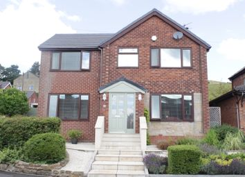 Thumbnail 4 bed detached house for sale in Carrwood Hey, Ramsbottom, Bury