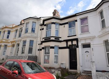 Thumbnail 3 bed terraced house for sale in Grafton Road, Mutley, Plymouth