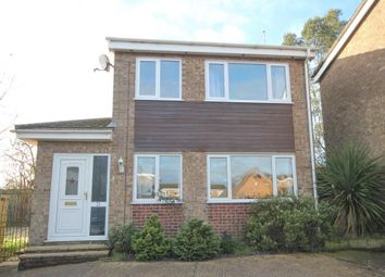 Thumbnail 3 bed detached house for sale in Matthew Wren Close, Little Downham, Ely