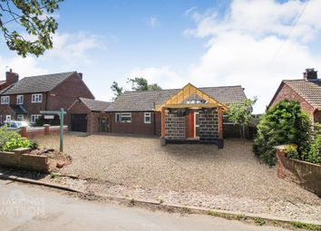 Thumbnail 3 bed detached bungalow for sale in Beach Road, Happisburgh, Norwich