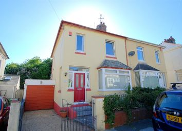 Thumbnail 3 bed semi-detached house to rent in West Down Road, Plymouth