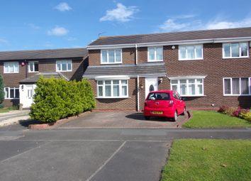 Thumbnail 4 bedroom semi-detached house for sale in Hampton Close, Cramlington