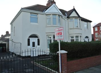 Thumbnail 3 bed semi-detached house to rent in Luton Road, Cleveleys