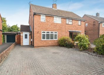 Thumbnail 3 bed semi-detached house for sale in Carrington Crescent, Wendover, Aylesbury