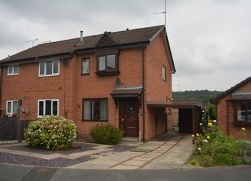 Thumbnail 2 bed semi-detached house for sale in Berry Holme Close, Chapeltown