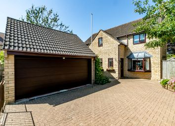 Thumbnail 4 bed detached house for sale in Orchard Gardens, Swindon