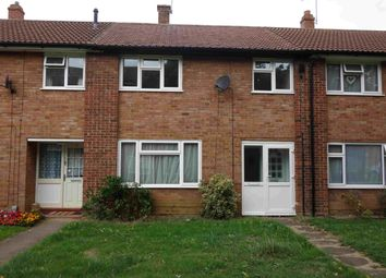 Thumbnail 3 bed terraced house to rent in Defoe Road, Ipswich, Suffolk