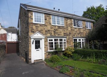 Thumbnail 3 bed semi-detached house for sale in North Park Street, Dewsbury, West Yorkshire