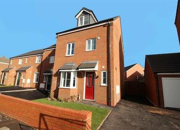 Thumbnail 4 bed terraced house for sale in Spring Lane, Pelsall, Walsall
