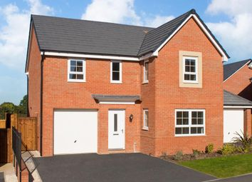 "Thumbnail 4 bedroom detached house for sale in ""Halton"" at Newton Lane, Wigston"