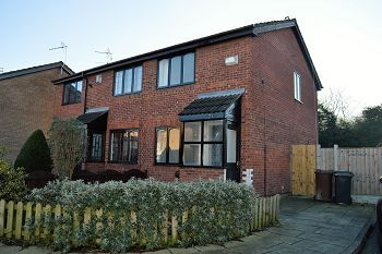 Thumbnail 2 bed semi-detached house to rent in 21 St Annes Close, Birkenhead, Wirral
