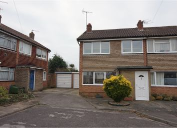 Thumbnail 3 bed end terrace house for sale in May Close, Bognor Regis