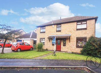 Thumbnail 4 bed detached house for sale in Hornsea Close, Billingham