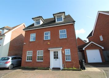 Thumbnail 5 bed detached house for sale in Flamingo Close, Hatfield