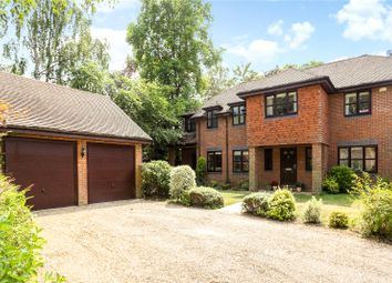 Thumbnail 5 bed detached house for sale in The Paddock, Godalming, Surrey
