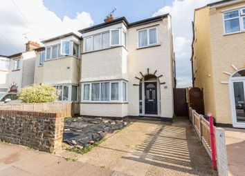 Thumbnail 3 bed semi-detached house for sale in Wentworth Road, Southend-On-Sea