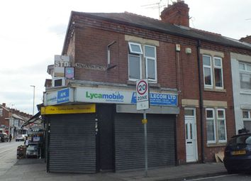 Thumbnail 3 bed flat to rent in Rolleston Street, Leicester