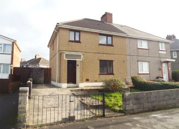 Thumbnail 3 bed semi-detached house to rent in Martin Road, Llanelli