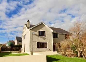Thumbnail 8 bed detached house for sale in Off High Street, Bryngwran, Holyhead