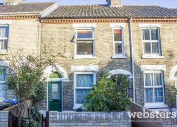 Thumbnail 3 bedroom terraced house for sale in Swansea Road, Norwich