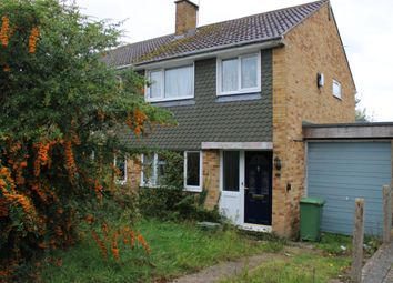 Thumbnail 3 bed semi-detached house for sale in Herons Way, Thatcham