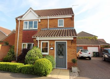 Thumbnail 3 bed detached house for sale in Caraway Drive, Bradwell