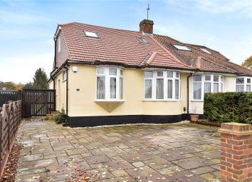 Thumbnail 4 bedroom semi-detached bungalow for sale in Sandhurst Road, Orpington