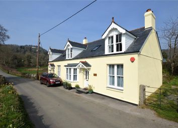 Thumbnail 3 bed semi-detached house for sale in Lustleigh, Newton Abbot, Devon