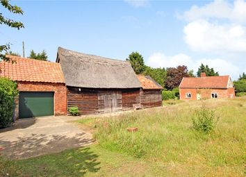 Thumbnail 3 bed detached house for sale in Blyford Lane, Wenhaston, Halesworth, Suffolk