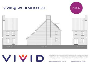 Thumbnail 3 bed property for sale in Vivd @ Woolmer Green, Monarch Green, Bordon
