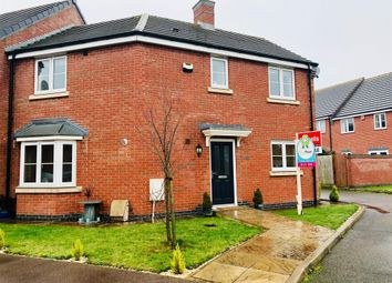 Thumbnail 3 bed end terrace house for sale in Juno Close, Hinckley