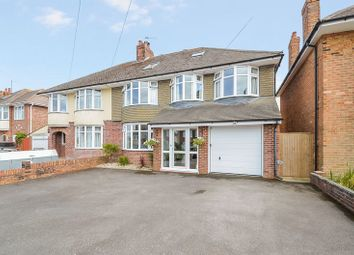 Thumbnail 5 bed semi-detached house for sale in Substantial Family Home With Swimming Pool, Weymouth Bay Avenue, Lodmoor
