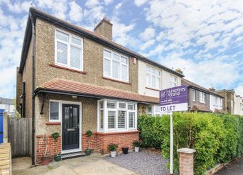 Thumbnail 3 bed semi-detached house to rent in Tolworth Park Road, Tolworth, Surbiton