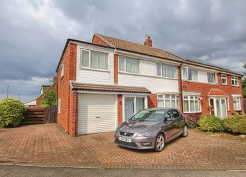 Thumbnail 4 bed semi-detached house for sale in Redcar Road, Marske-By-The-Sea, Redcar