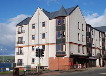 Thumbnail 1 bed flat to rent in Kempock Street, Gourock