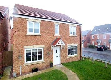 Thumbnail 4 bed detached house for sale in Glaramara Drive, Carlisle