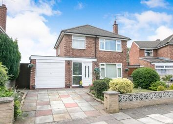 Thumbnail 3 bed detached house for sale in Malcolm Crescent, Bromborough, Wirral