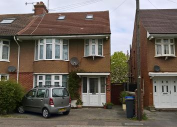 Thumbnail 3 bedroom property to rent in King Edward Avenue, Broadwater, Worthing