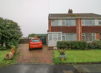 Thumbnail 3 bed semi-detached house for sale in Oldbury Place, Thornton-Cleveleys