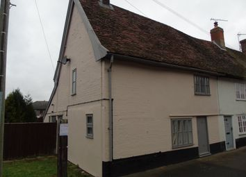 Thumbnail 1 bed cottage to rent in The Street, Bramford, Ipswich