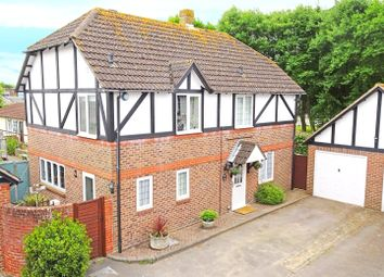 Thumbnail 4 bed detached house for sale in The Dell, Angmering, West Sussex