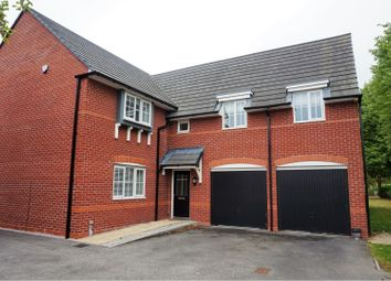 Thumbnail 4 bed detached house to rent in Stubbs Lane, Northwich