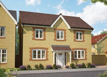 "Thumbnail 4 bed detached house for sale in ""The Chesnut"" at Gainsborough, Milborne Port, Sherborne"