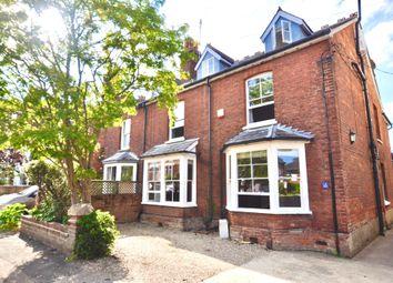 Thumbnail 5 bed semi-detached house for sale in West Road, Saffron Walden